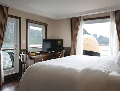 Accommodation on Halong Bay boat trip